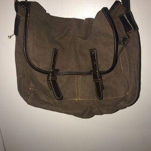 Merona Messenger Bag